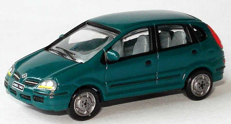 Foto 1:87 Nissan Almera Tino dunkelgrün Werbemodell Nissan