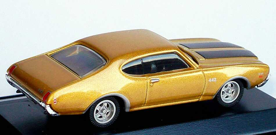 Foto 1:87 Oldsmobile 442 (1969) gold-met. Model Power 19254