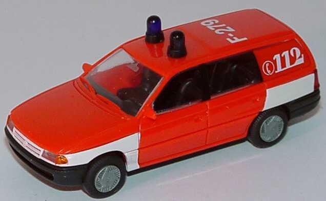 Foto 1:87 Opel Astra Caravan Feuerwehr F-279 Rietze 50485