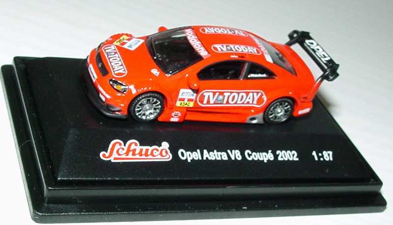 Foto 1:87 Opel Astra V8 Coupé DTM 2002 TV Today Nr.8,  Winkelhock Schuco 21649
