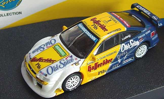 Foto 1:87 Opel Calibra V6 DTM 1995 Rosberg, Old Spice, Hasseröder Nr.1, Ludwig Paul´s Model Art 870954201