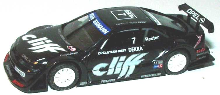 Foto 1:87 Opel Calibra V6 ITC 1996 Joest, Cliff Nr.7, Manuel Reuter(ohne PC-Box) herpa 036955