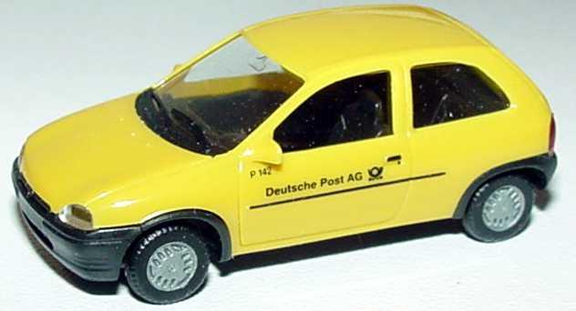 Foto 1:87 Opel Corsa B 2türig Deutsche Post AG herpa 042840