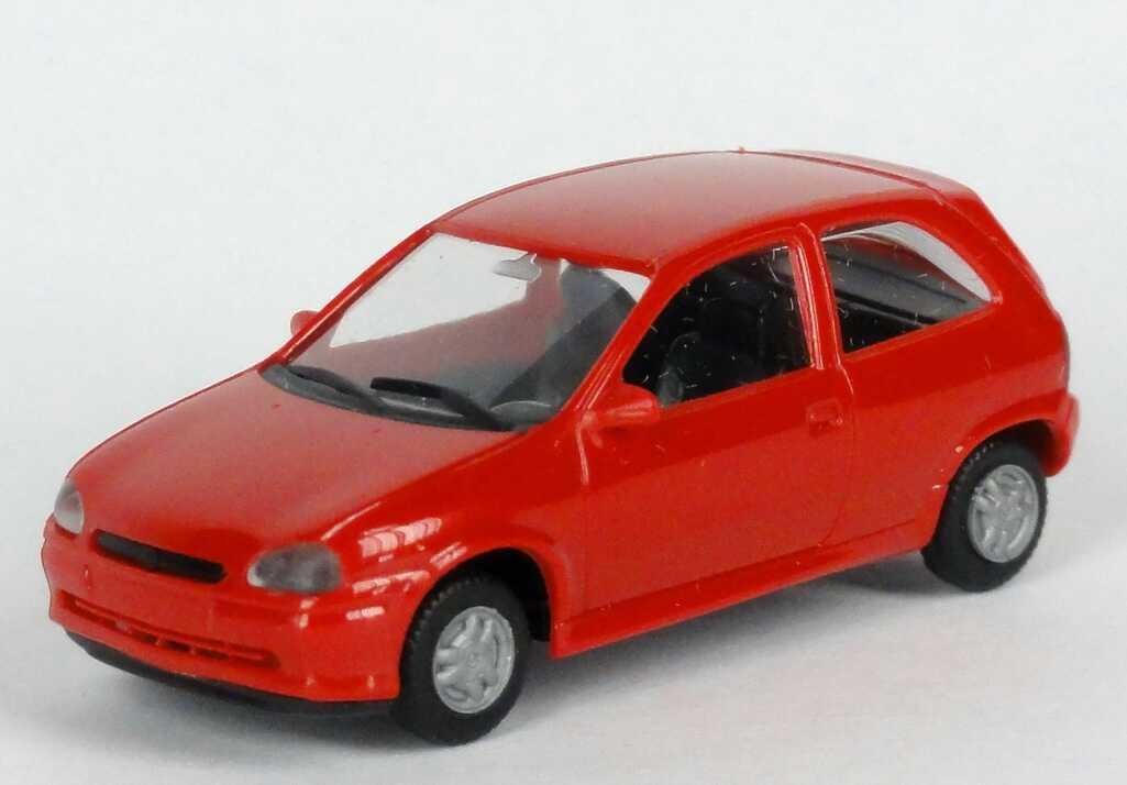 Opel Corsa B GSI 3-türig silber-metallic Adventskalender 1999-1:87 Herpa