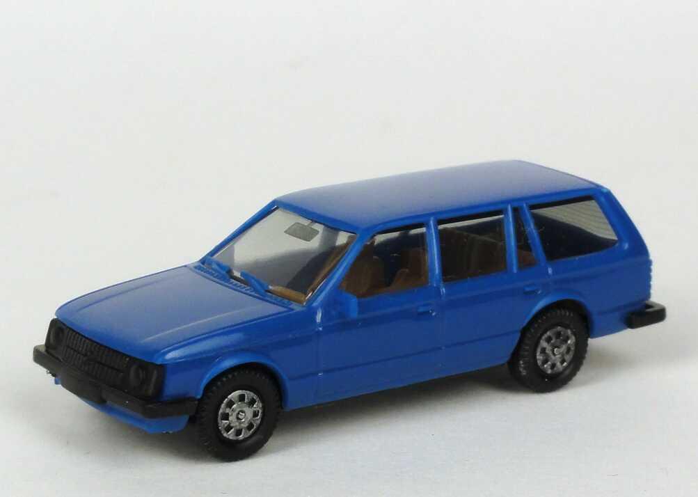 Foto 1:87 Opel Kadett D Caravan blau - herpa 2030