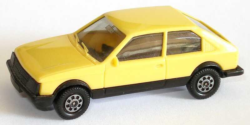 Foto 1:87 Opel Kadett D SR 2türig blaßgelb herpa 2024
