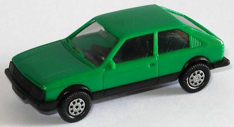 Foto 1:87 Opel Kadett D SR 2türig grün, IA schwarz herpa 2024