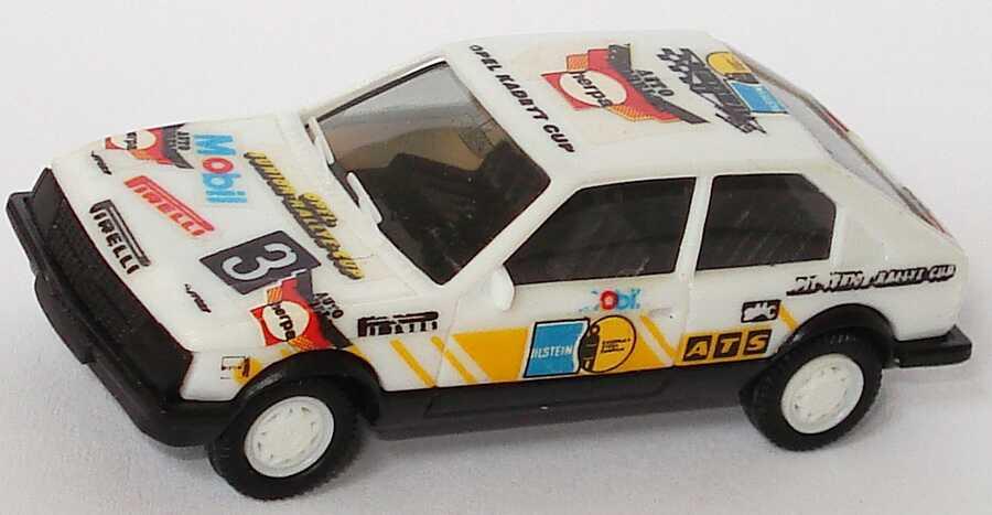Foto 1:87 Opel Kadett D SR Motorsport Opel-Junior-Rallye-Cup Nr.3, Decals angebracht herpa 3560