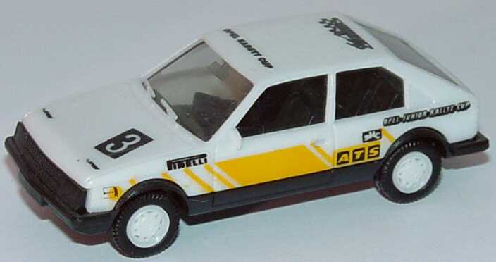 Foto 1:87 Opel Kadett D SR Motorsport Opel-Junior-Rallye-Cup Nr.3 herpa 3560