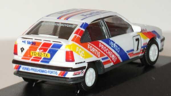 Foto 1:87 Opel Kadett GSi VPFF-Rallyteam Nr.7 (de Kleine) herpa