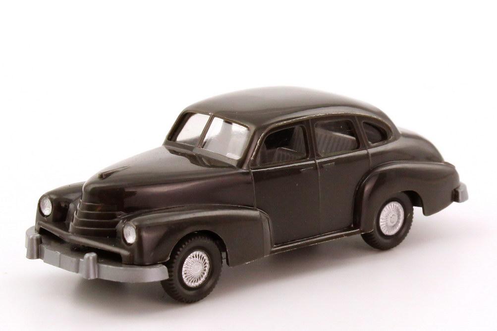 Foto 1:87 Opel Kapitän 1951 dunkelgrau Wiking 110