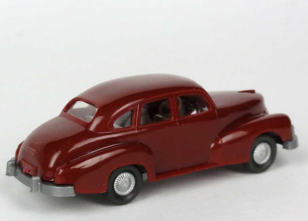 Foto 1:87 Opel Kapitän ´51 weinrot Wiking 110