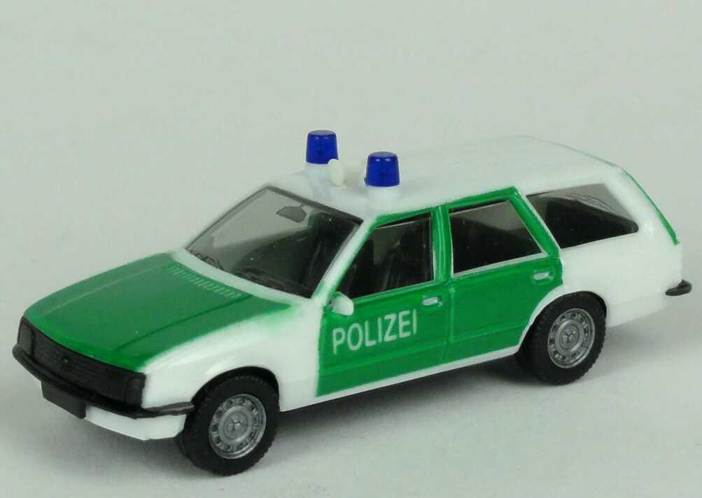 Foto 1:87 Opel Rekord Caravan Polizei herpa 4090