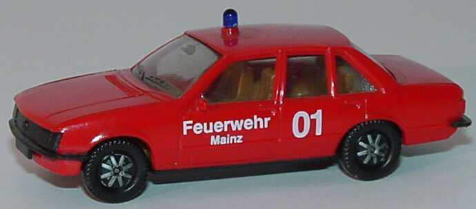 Foto 1:87 Opel Rekord E Feuerwehr Mainz 01 herpa 4053