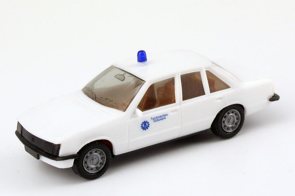 Foto 1:87 Opel Rekord E THW weiß, IA braun herpa