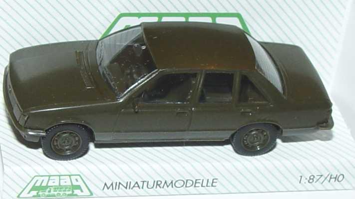 Foto 1:87 Opel Rekord Militär olivgrün Maag 700054
