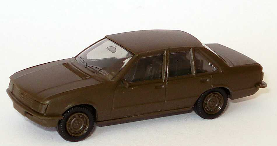 Foto 1:87 Opel Rekord Militär olivgrün seidenmatt Maag