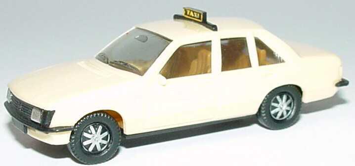 Foto 1:87 Opel Rekord Taxi, IA beige, Scheinwerfer silbern herpa 4001