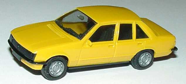 Foto 1:87 Opel Rekord gelbbeige (neue Räder) herpa 2007