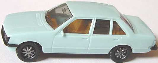 Foto 1:87 Opel Rekord hellblau (IA beige) herpa 2007