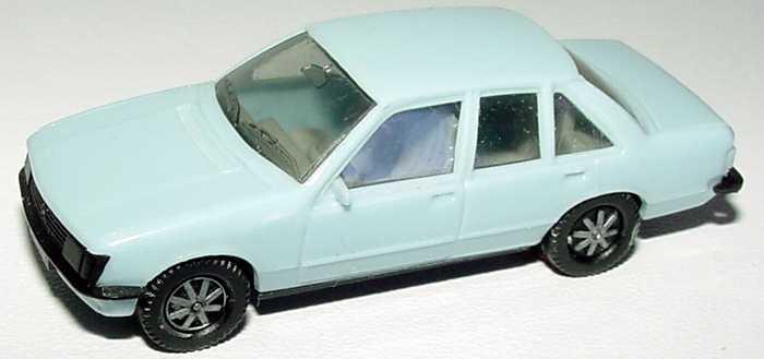 Foto 1:87 Opel Rekord hellblau (IA grau) herpa 2007