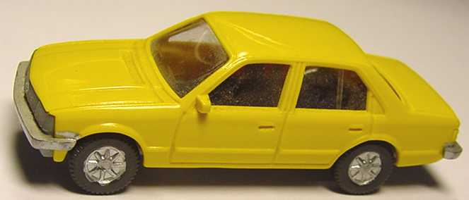 Foto 1:87 Opel Rekord hellcurrygelb Fleischmann