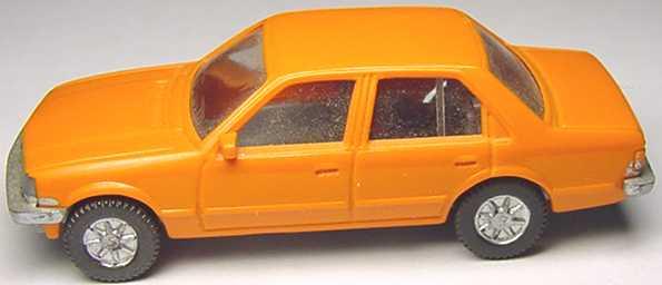 Foto 1:87 Opel Rekord orange Fleischmann