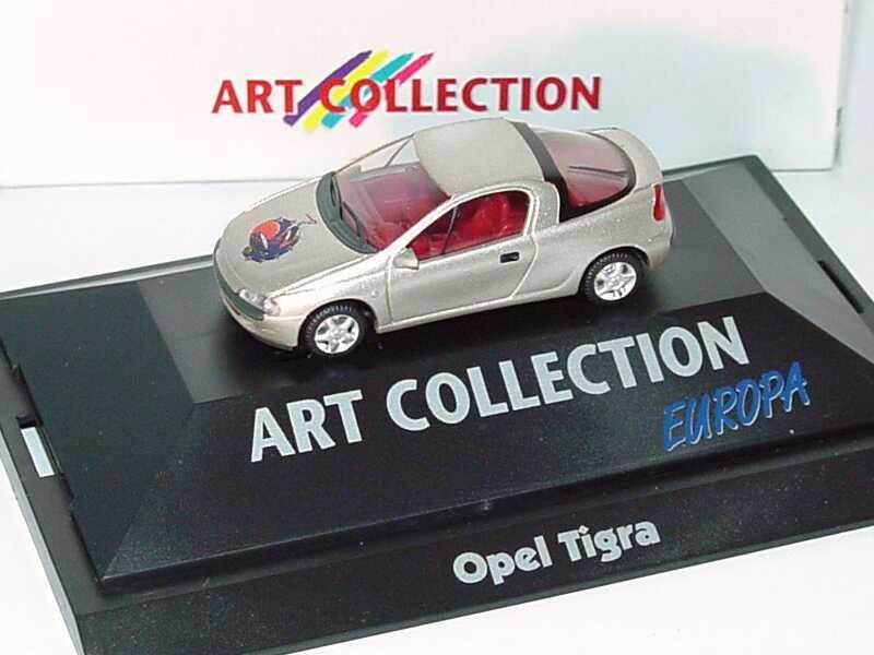 Foto 1:87 Opel Tigra Europa (Art Collection) herpa 045247