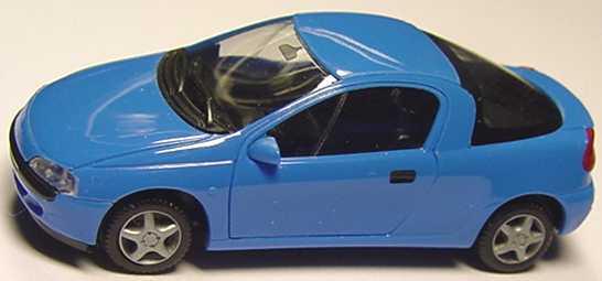 Foto 1:87 Opel Tigra himmelblau herpa 021746