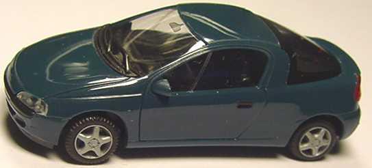 Foto 1:87 Opel Tigra petrolblau herpa 021746