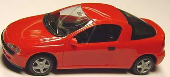 Foto 1:87 Opel Tigra rot herpa 021746