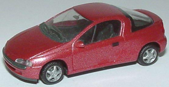 Foto 1:87 Opel Tigra rot-met. herpa