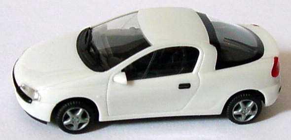 Foto 1:87 Opel Tigra weiß herpa 021746