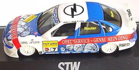 Foto 1:87 Opel Vectra B STW 1998 Opel Service Nr.7, Reuter herpa 037594