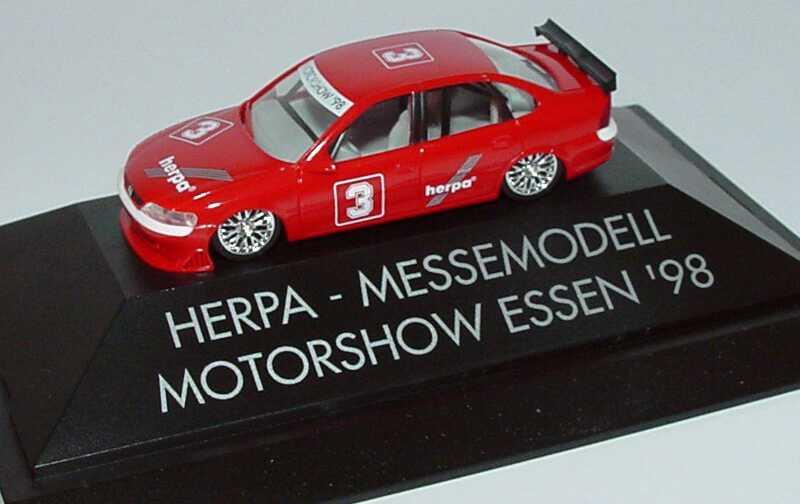 Foto 1:87 Opel Vectra B STW Herpa, Messemodell Motorshow Essen ´98 Nr.3 herpa 237918