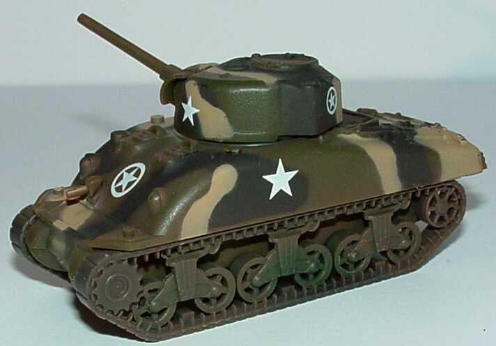 Foto 1:87 Panzer M4 Sherman in Tarnfarben Schuco 21804