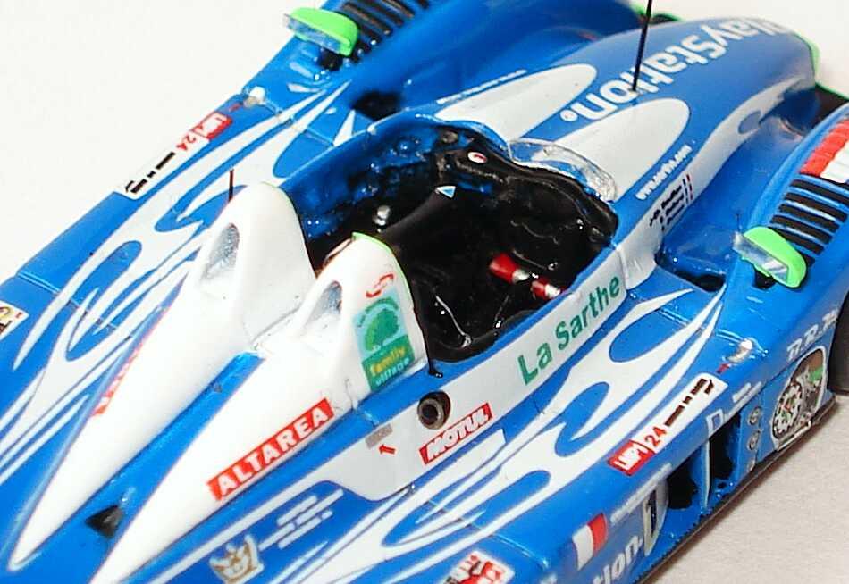 Foto 1:87 Pescarolo 01 - Judd LeMans 2007 PlayStation, Gran Tourismo Nr.16, Collard / Boullion / Dumas (3. Platz) Spark 87S026