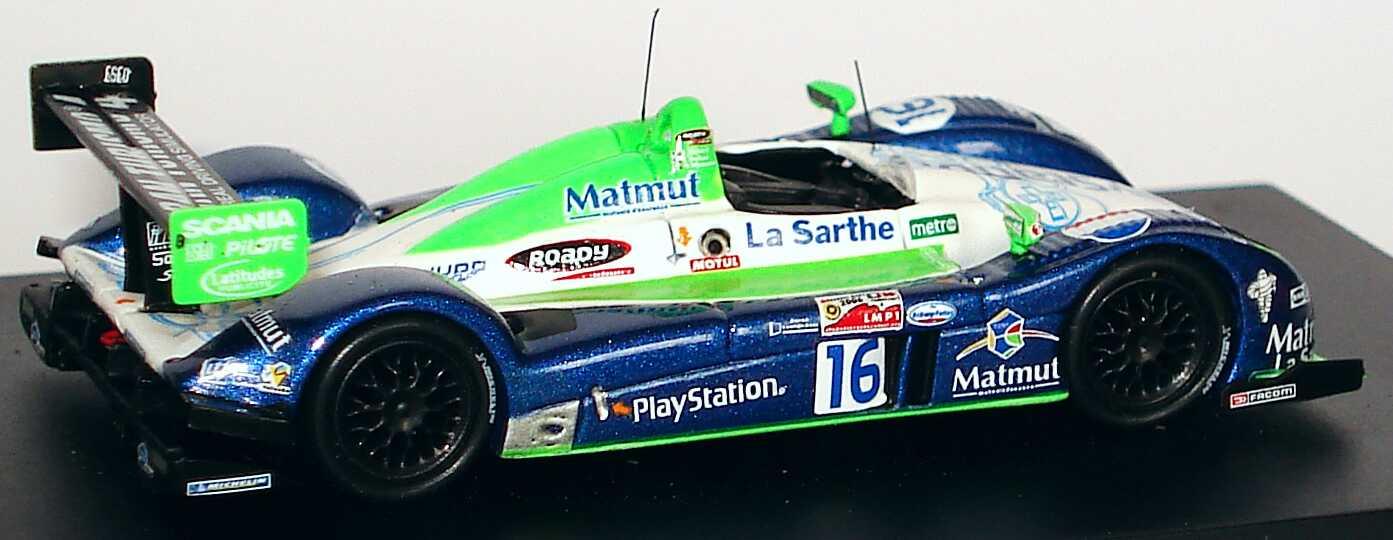 Foto 1:87 Pescarolo C60 - Judd LeMans 2006 PlayStation, Matmut Nr.16, Collard / Comas / Minassian Spark 87S002