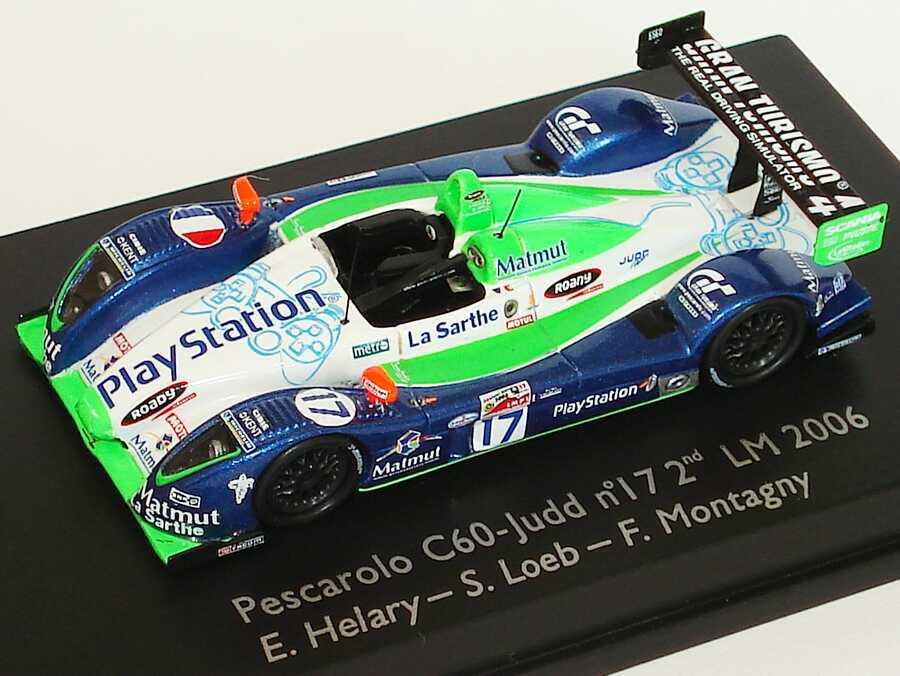 Foto 1:87 Pescarolo C60 - Judd LeMans 2006 PlayStation, Matmut Nr.17, Helary / Loeb / Montagny Spark 87S001