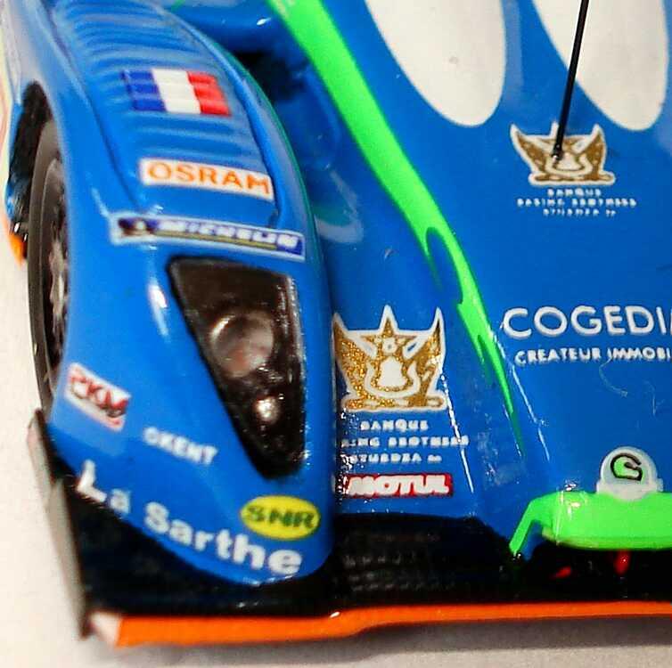 Foto 1:87 Pescarolo P01-Judd LeMans 2008 Pescarolo Sport Nr.17, Promat / Tinseau / Treluyer (7. Platz) Spark 87S089