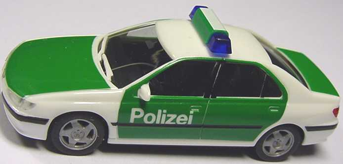 Foto 1:87 Peugeot 406 Polizei herpa 044035