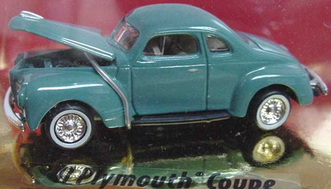 Foto 1:87 Plymouth Coupé (1941) graublau Classic Metal Works 30105