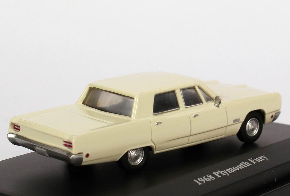 Foto 1:87 Plymouth Fury 1968 creme-weiß - Masterpiece 9987190