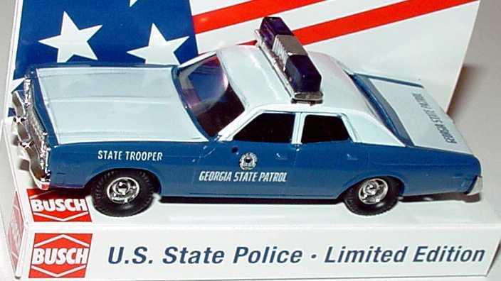 Foto 1:87 Plymouth Fury Georgia State Patrol Busch 46671