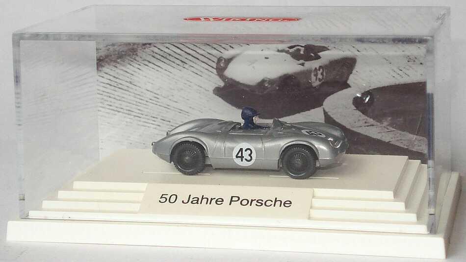 Foto 1:87 Porsche 1500RS Spyder silber Nr.43 50 Jahre Porsche Wiking 1670130