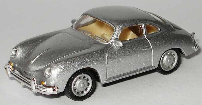 Foto 1:87 Porsche 356A silber-met. Malibu International