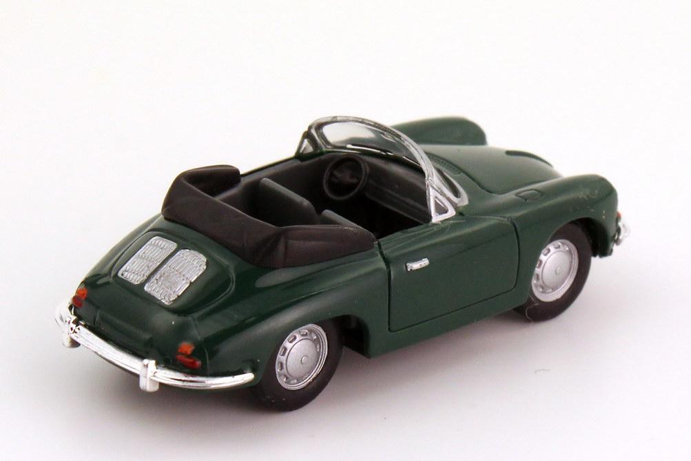 Foto 1:87 Porsche 356 B Cabrio dunkelgrün herpa 022286