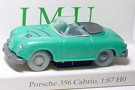 Foto 1:87 Porsche 356 Cabrio grün-met. Spielwarenmesse Nürnberg ´92 I.M.U. 20016