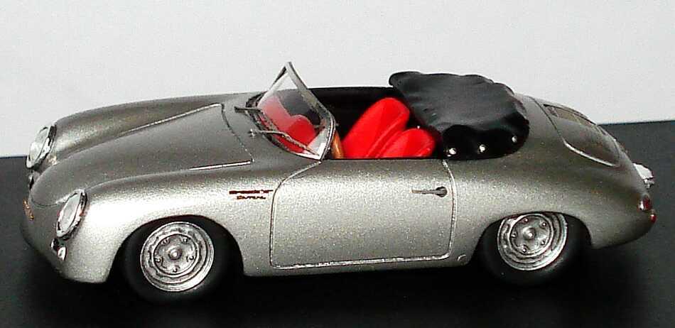 Foto 1:87 Porsche 356 Speedster Carrera 1957 silber-met. Spark 87S054