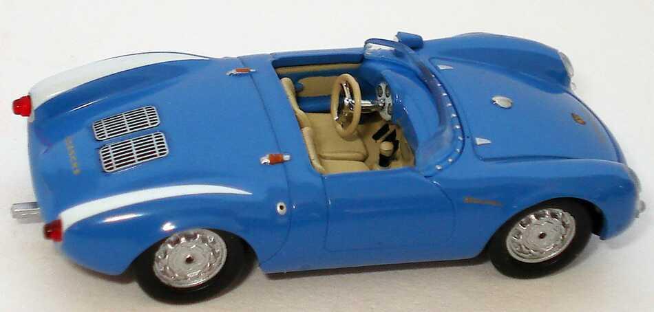 Foto 1:87 Porsche 550 Spyder blau/weiß Ricko 38667